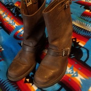 Womens frye boots.mid calf. Size 8.5